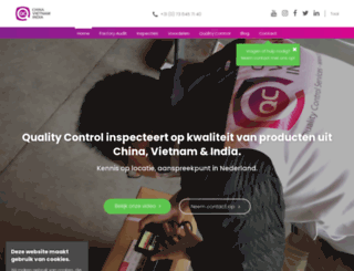 qcchina.nl screenshot