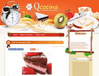 qcocina.net screenshot