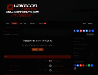 qconforums.com screenshot