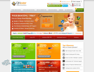 qhoster.net screenshot