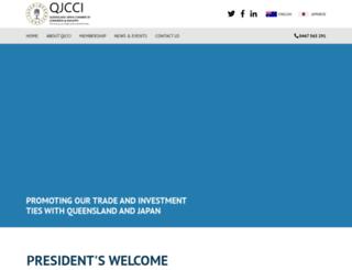 qjcci.asn.au screenshot