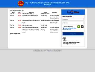 qlvbyd.bacgiang.gov.vn screenshot