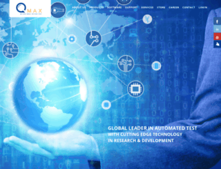 qmaxtest.com screenshot