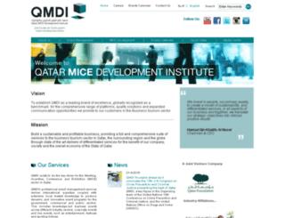 qmdi.com.qa screenshot