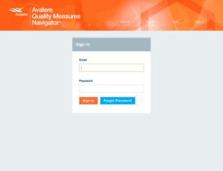 qmn.avalere.com screenshot