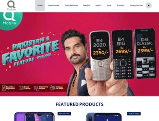 qmobile.com.pk screenshot