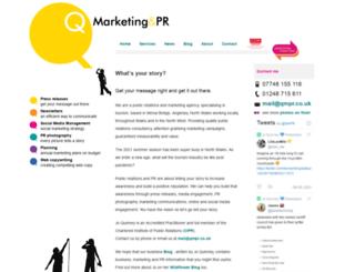 qmpr.co.uk screenshot