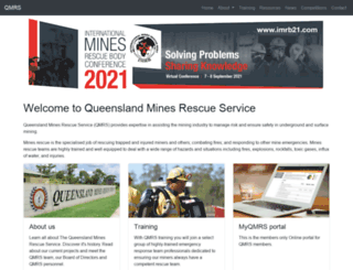 qmrs.com.au screenshot