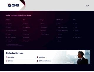 qnb.com screenshot