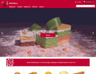 qqbakery.nl screenshot