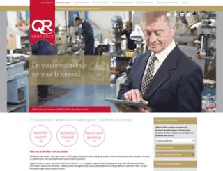 qrventures.co.uk screenshot