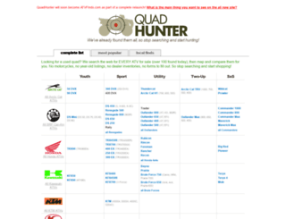 quadhunter.com screenshot