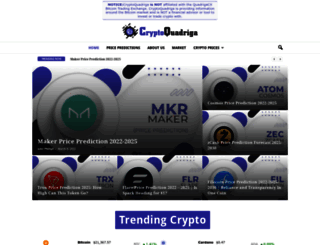 quadrigacx.com screenshot