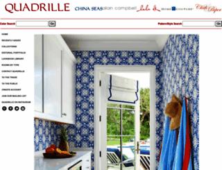 quadrillefabrics.com screenshot