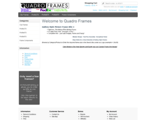 quadroframes.biz screenshot