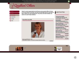 quaffersoffers.co.uk screenshot