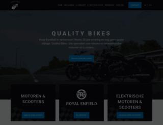 qualitybikes.be screenshot