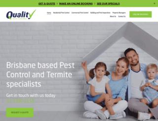 qualitypestcontrol.com.au screenshot