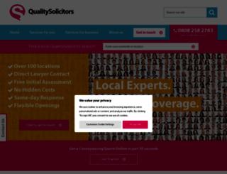 qualitysolicitors.com screenshot