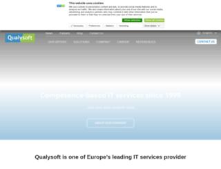 qualysoft.com screenshot