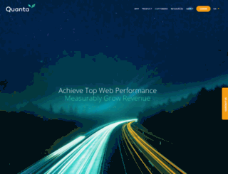 quanta-computing.com screenshot