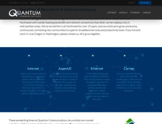 quantum-networks.net screenshot