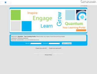 quantum.skillport.com screenshot