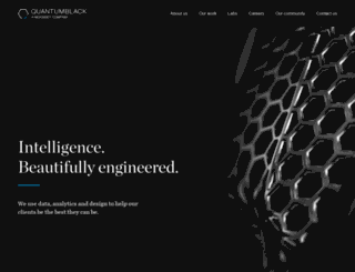 quantumblack.com screenshot