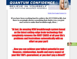 quantumconfidencesystem.com screenshot