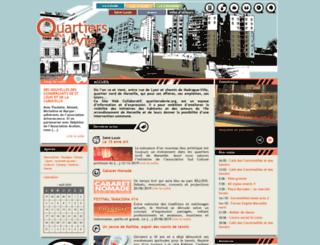 quartiersdevie.org screenshot