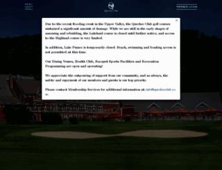 quecheeclub.com screenshot