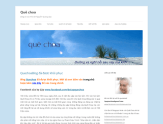 quechoablog.wordpress.com screenshot