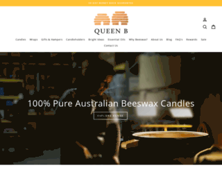 queenb.com.au screenshot