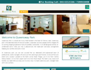 queenswaypark.com screenshot