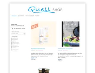 quell-shop.de screenshot