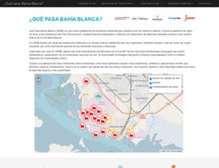 quepasabahiablanca.gov.ar screenshot