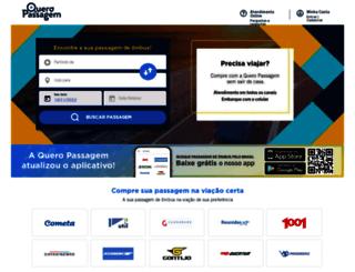 queropassagem.com.br screenshot