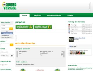 querovergol.com.br screenshot