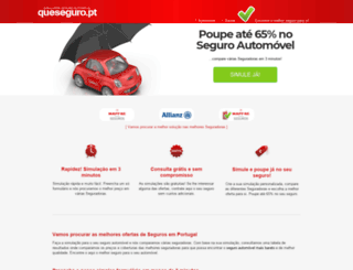 queseguro.pt screenshot