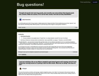 questionbug.tumblr.com screenshot