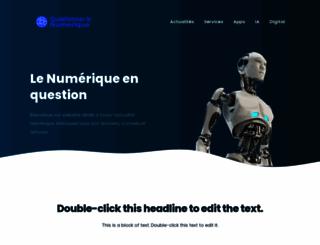 questionner-le-numerique.org screenshot