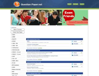 questionpaper.net screenshot