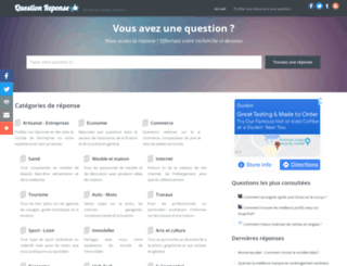 questionreponse.info screenshot
