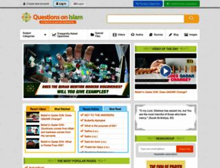 questionsonislam.com screenshot