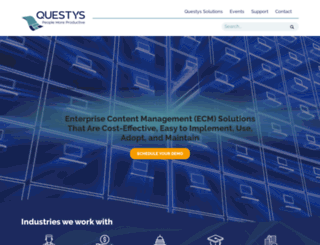 questyssolutions.com screenshot