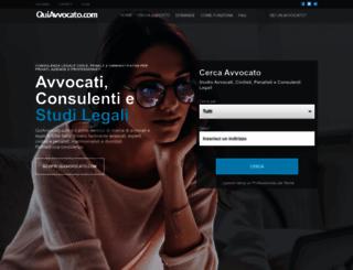 quiavvocato.com screenshot
