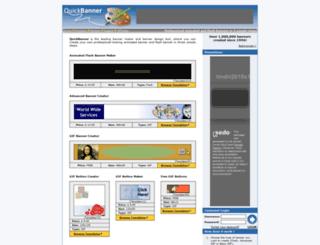 quickbanner.com screenshot