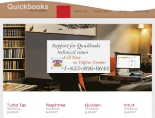 quickbooks.supportphonenumber.com screenshot