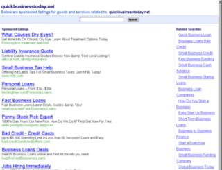 quickbusinesstoday.net screenshot