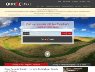 quickclarke.co.uk screenshot